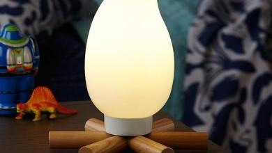 Photo of Tábortűz a gyermekszobába: Campsite Nightlight lámpa