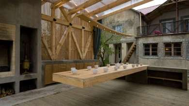 Photo of Konzolos étkező asztal, lebegő hatással