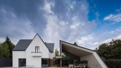 Photo of Aszimmetrikus ház bővítés