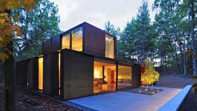 Photo of Egy grafikus modern háza a természetben