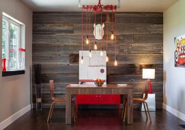 Mid-century-modern-dining-room-with-rustic-decor-elements-900x634