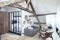 Paris-apartment-with-rustic-and-modern-elements-900x600