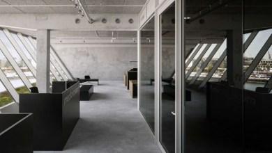 Photo of Ipari jellegű irodai környezet Amszterdamban