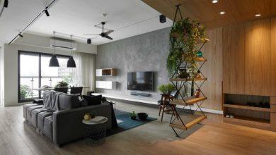Photo of Modern lakás újratervezése Tajvanon