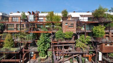 Photo of Különleges lakóépület Torinóban