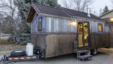 Photo of Rusztikus lakókocsi modern belsővel