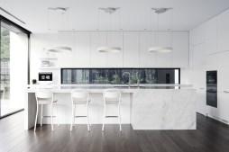 White-Marble-Island-Kitchen-Dark-Wood-Floors