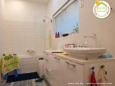 Balatonöszödi családi ház - fürdőszoba