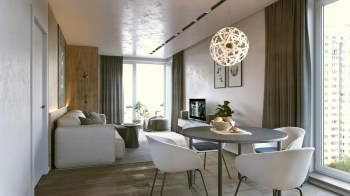 curved-furniture-in-small-apartment-living-room