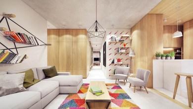 Photo of Kényelmes modern otthon színekkel