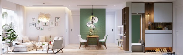rich-green-accent-wall-color