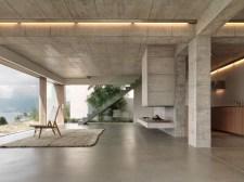 Concrete-living-room