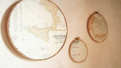 Photo of Dekorációs ötletek térképpel