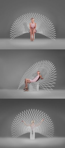 white-peacock-back-unusual-chairs-600x1350