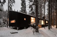 A-house-and-Studio-follows-the-slope-on-the-site