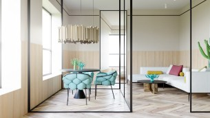 Blue-dining-chairs