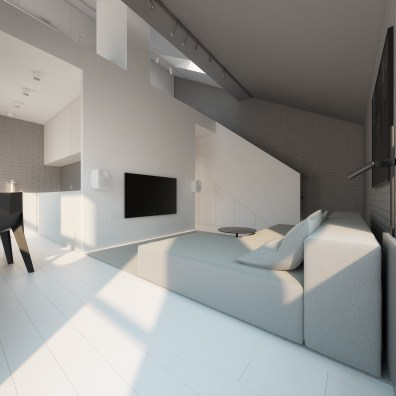 gray-and-white-living-room