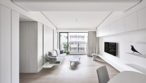 white-living-room-curtains