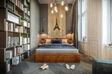 Paris-themed-bedroom