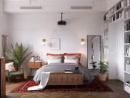 Scandinavian-style-bedroom