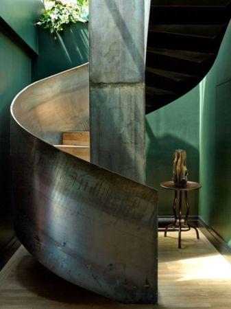 Stunning-industrial-spiral-staircase-design