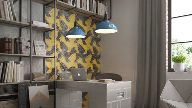 Photo of Ipari stílusú otthoni irodák