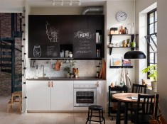 one-wall-kitchen-cabinets