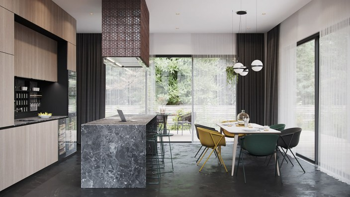 Modern-kitchen-diner