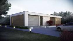 Luxus családi ház minimalista stílusban