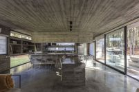 Kitchen-Concrete-forest-House-by-Besonias-Almeida-Arquitectos