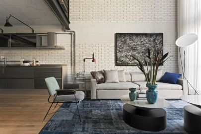 Brazil-Industrial-loft-by-Diego-Revollo-Arquitetura-white-painted-brick