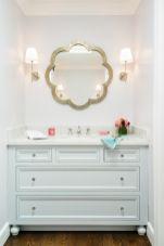 Metalic-flower-mirror-for-poweder-room