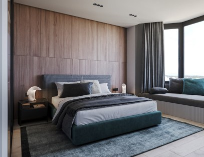 bedroom-wooden-accent-wall