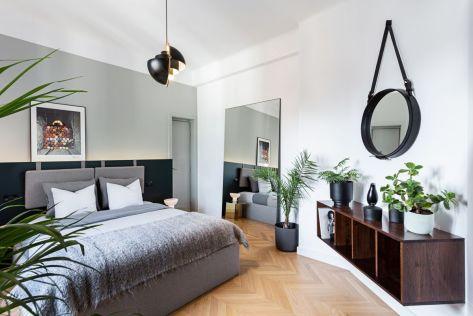 Beautiful-apartment-interior-design-in-Bucharst-by-Bogdan-Ciocodeica-Studio-floating-cabinet