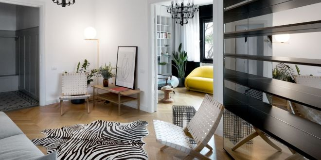 Régi apartman felújítása Bukaresten