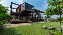 Modern-Three-story-residence-from-recycled-shipping-containers