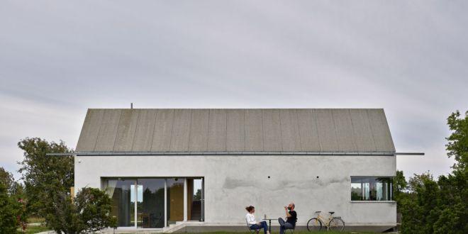 Kis betonház, ami csodálatos svéd tájra nyújt kilátást