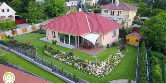 Solymár családi ház típusterv árajánlat, tervei és fotói