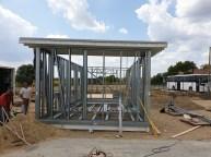 Mobilház építése