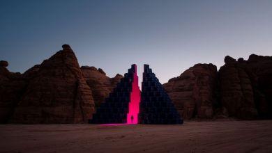 Photo of Desert X AIUIa Art Szaúd-Arábiai létesítménye a történelmi kereskedelmi útvonal mentén, lélegzetelállító