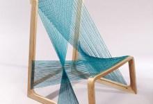 """Photo of Egy """"szőtlen"""" szőtt szék: selyem felfüggesztett ülés"""