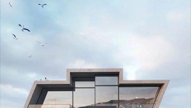 Photo of A Warmhouse Studio betonházai ikonikus vállalati logók formáját öltik