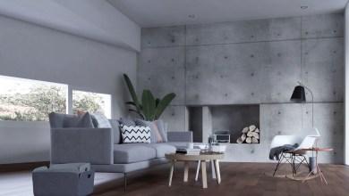 Photo of 25 stílusos nappali amely beton elemekkel tűnik ki a tömegből