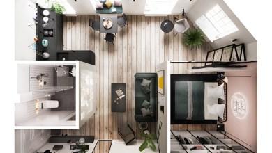 Photo of 3 inspiráló nyitott hálószobás apartman belső üvegfalakkal ellátva