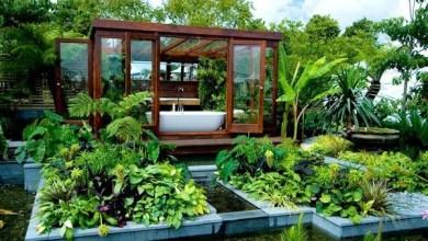 Photo of Luxus kerti fürdőszoba- mindenki álma