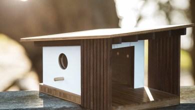 Photo of Építészet ihlette középkori- modern stílusú madár házak