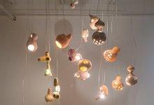 Photo of Kézzel készített kerámia héj- lámpabúrák