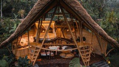 """Photo of A """"Hideout Horizon"""" teljesen bambuszból épült villa trópusi luxust kínál Balin"""