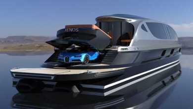Photo of Xenos Hyperyacht- ajándék Bugattival és 39 millió dolláros árcédulával