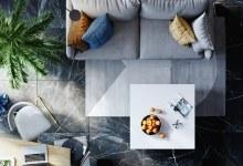 Photo of Kék árnyalatok ihlette otthonos belső terek